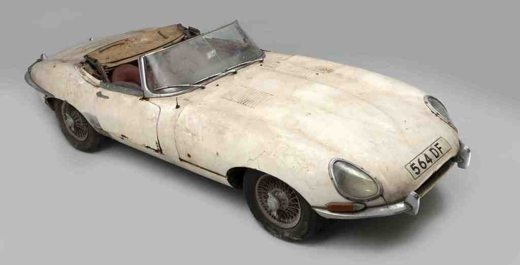 E Type Chassis 60 Visits 1st Owner On His 83rd Birthday