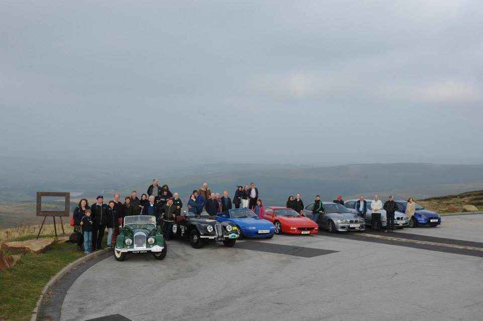 GoMW at Holme Moss Viewpoint