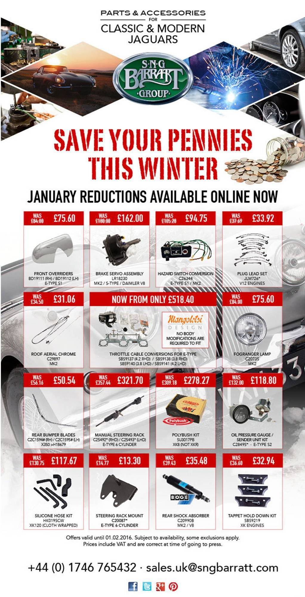 SNG Barratt January Reductions