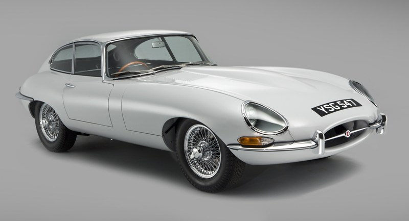 Jaguar E-Type Chassis 15 after restoration by CMC (Picture by John Colley)