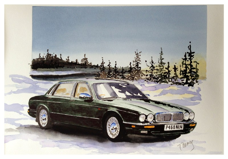 Brucie in Lappland by Watercolour Classics