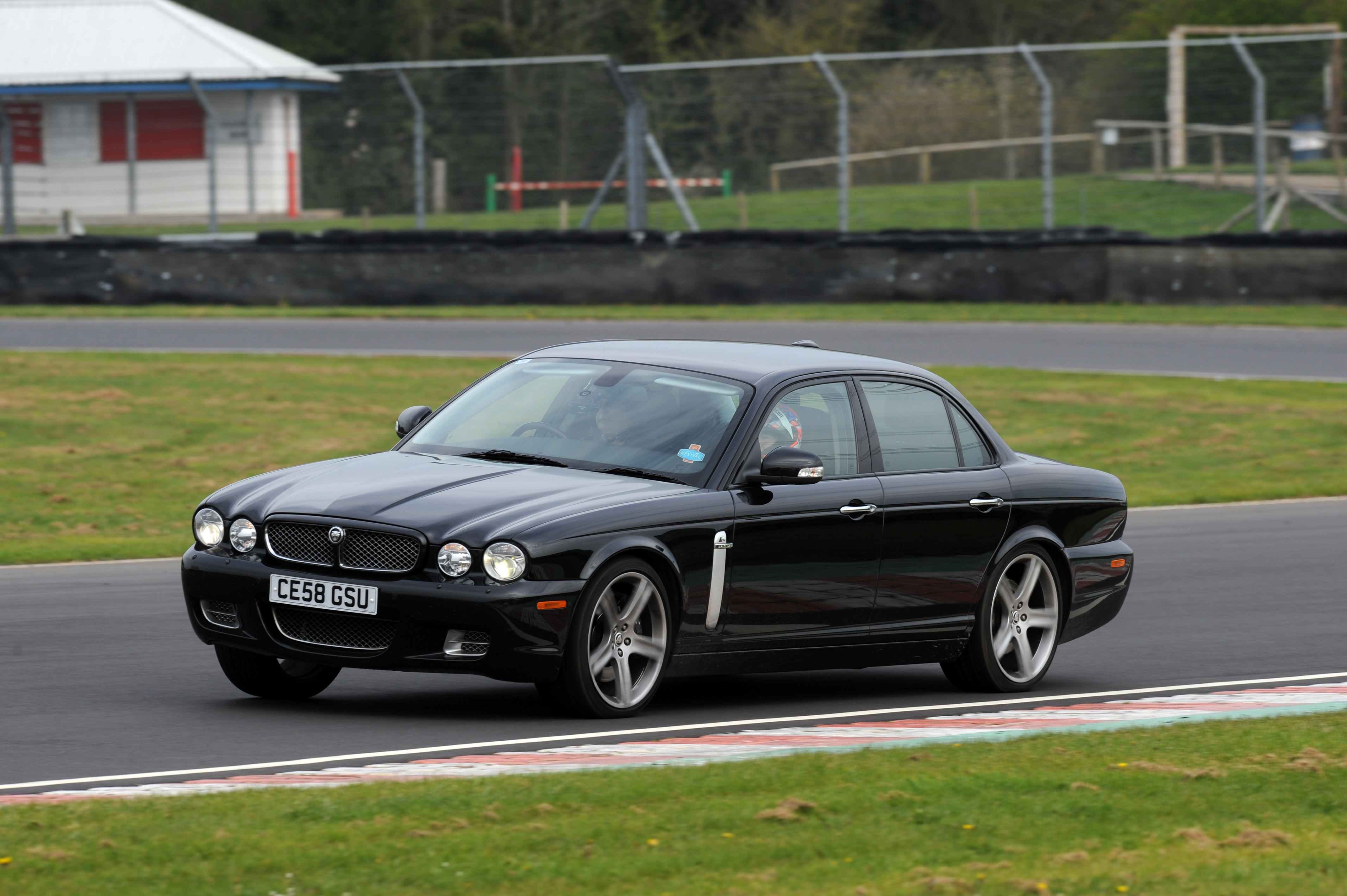 Rob Jenner and Letitia Mace at Castle Combe Race Circuit