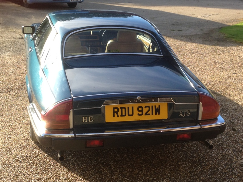 Jaguar XJS 5.3HE Press Car RDU 921W