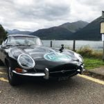 Day 9 - Fort William - SNG Barratt's 1961 E-Type Series One 4.2 roadster