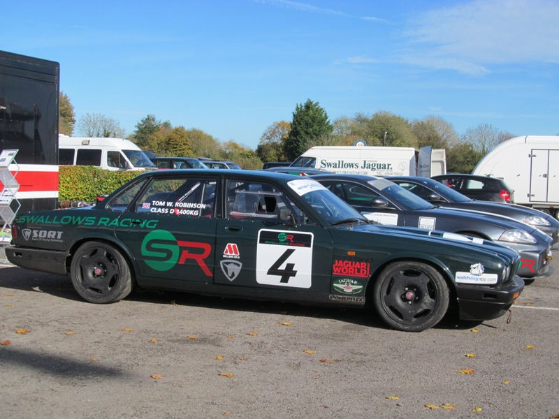 Swallows Racing XJR at Castle Combe
