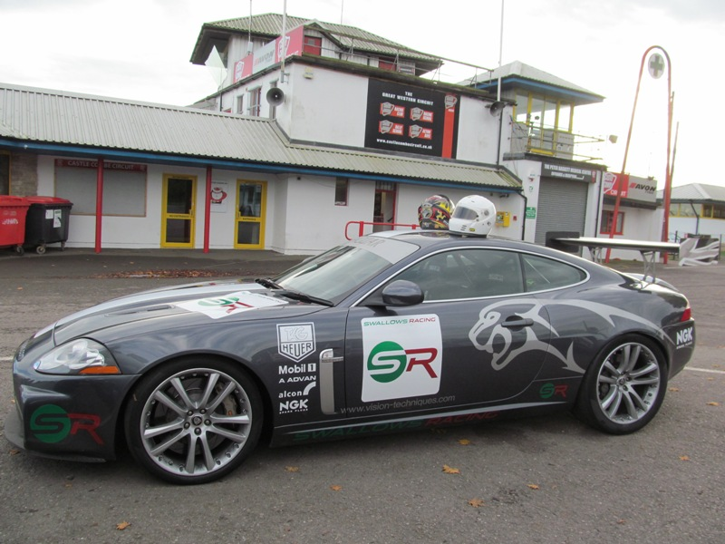 Swallows Racing XKR at Castle Combe