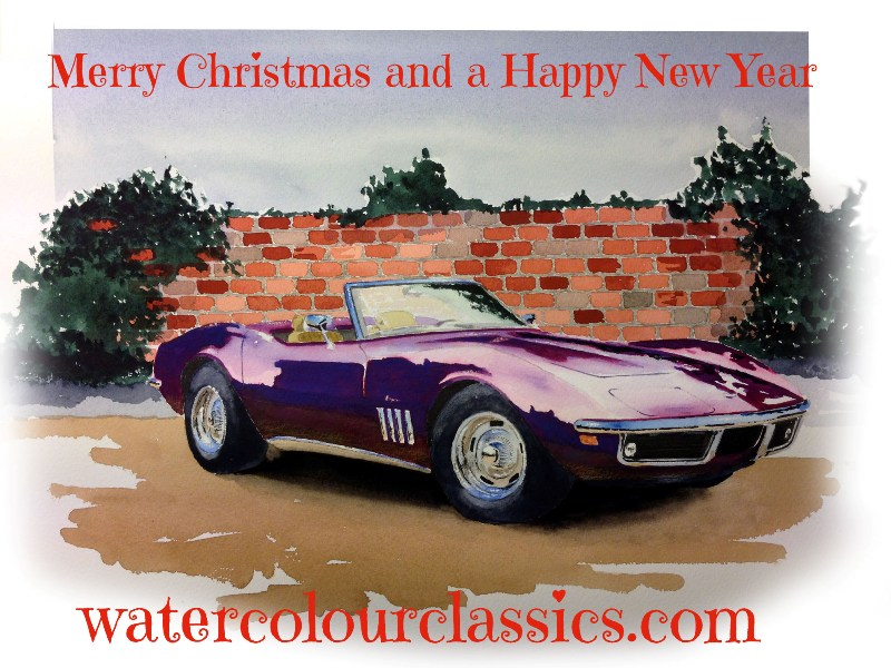 Merry Christmas from Watercolour Classics