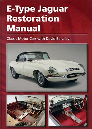 Book: E-type Restoration Manual by David Barzilay