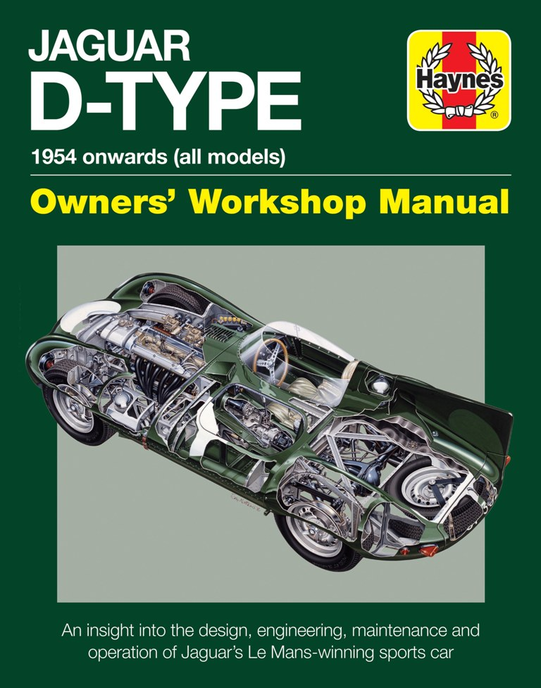 Book: Haynes Jaguar D-type Owners Manual