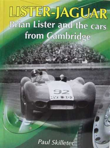 Book: Brian Lister and the cars from Cambridge by Paul Skilleter