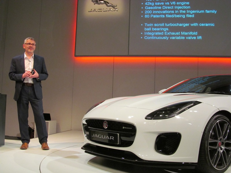 Dave Bond - JLR Vehicle Engineering Manager