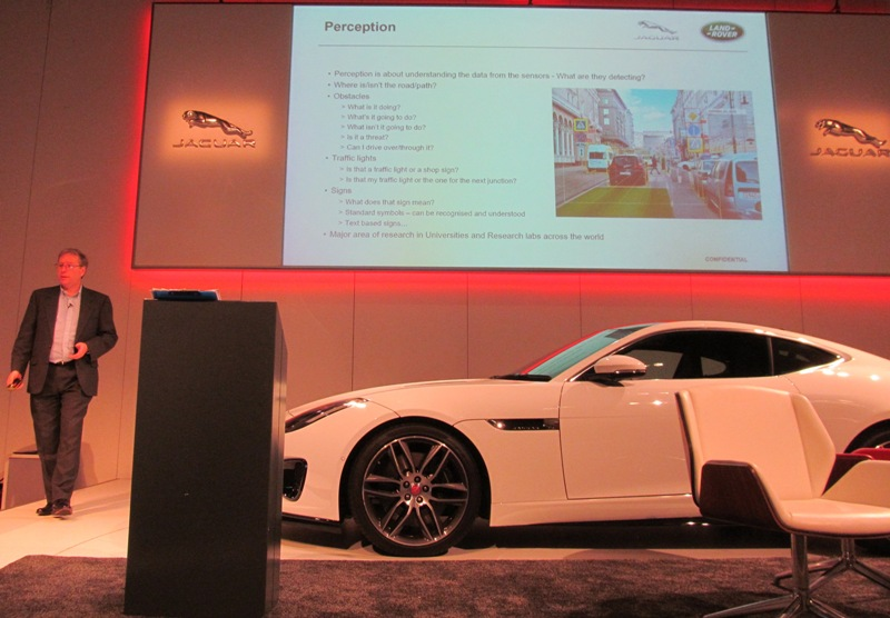 David White from Jaguar Cars at The Andrew Whyte Lecture 2017