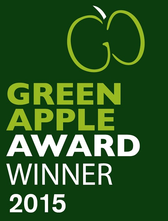 EDT Automotive - winners of the Green Apple Award 2015
