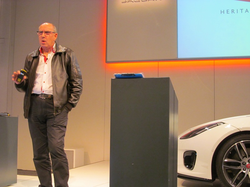 Tonny Merrygold, Vehicle Collections Manager for Jaguar Heritage