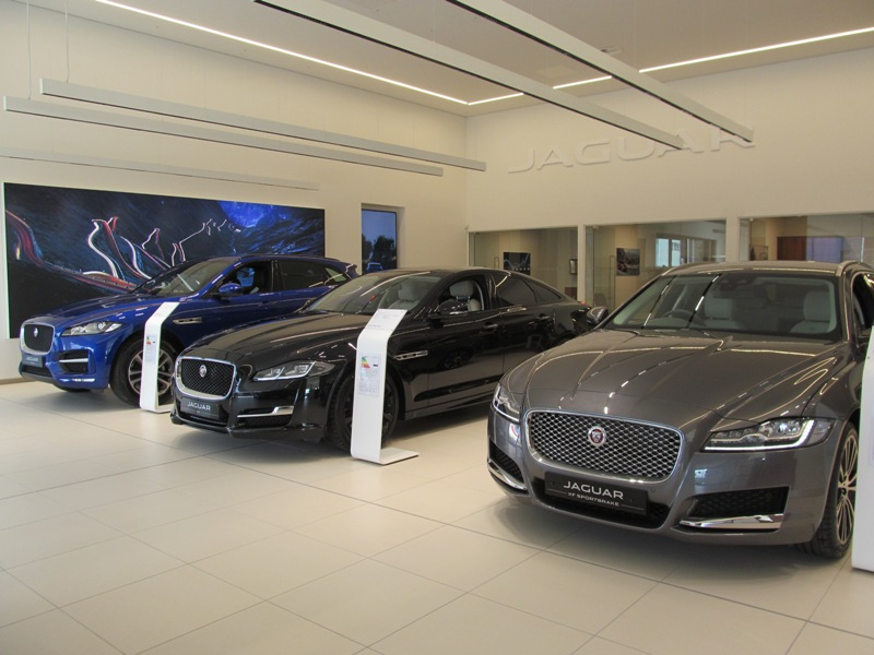 Pentland Jaguar Land Rover, Edinburgh, Scotland