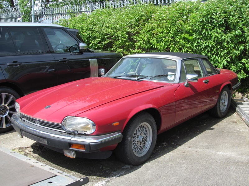 XJS Cabriolet at Sturgess Jaguar Land Rover Leicester