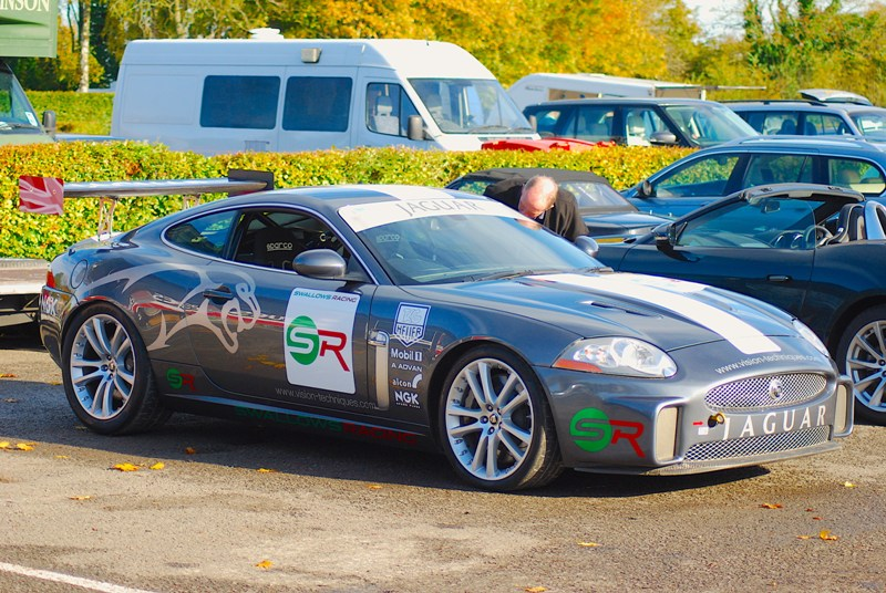 Swallows Racing Palmersport Xkr Castle Combe Feb18