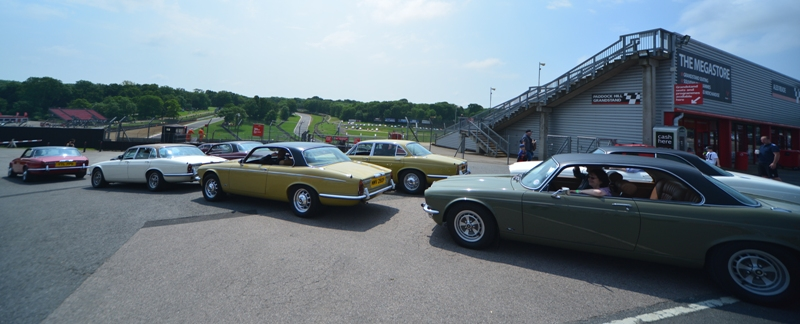 XJ Saloons and Coupes at Brands Hatch